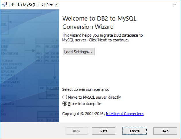 MySQL Migration Toolkit, Database Conversion Software Screenshot