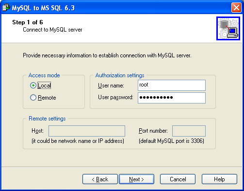 MySQL Migration Toolkit Screenshot 19