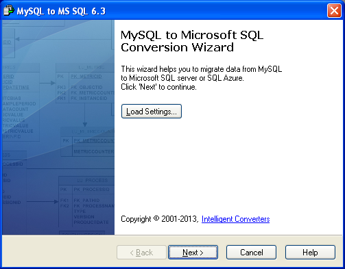 MySQL Migration Toolkit Screenshot 18