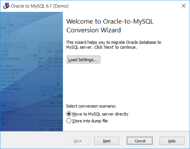 MySQL Migration Toolkit - Database Conversion Software for PC