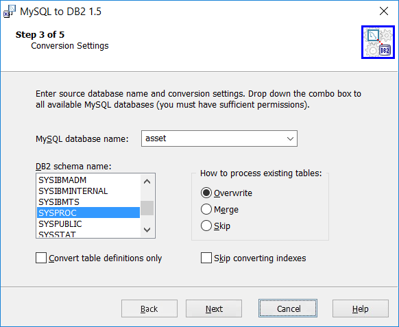 MySQL Migration Toolkit Screenshot 13