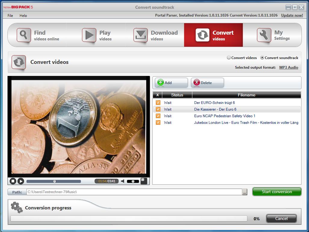 MyTube BigPack Screenshot