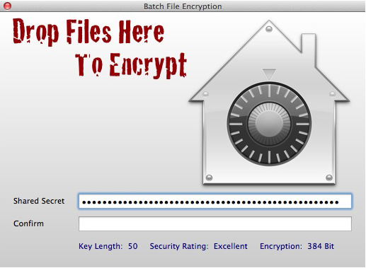 Security Software, myVault Screenshot