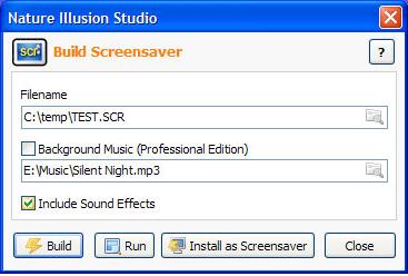 Animation Software, Nature Illusion Studio Professional Screenshot