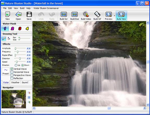 Nature Illusion Studio Professional Screenshot