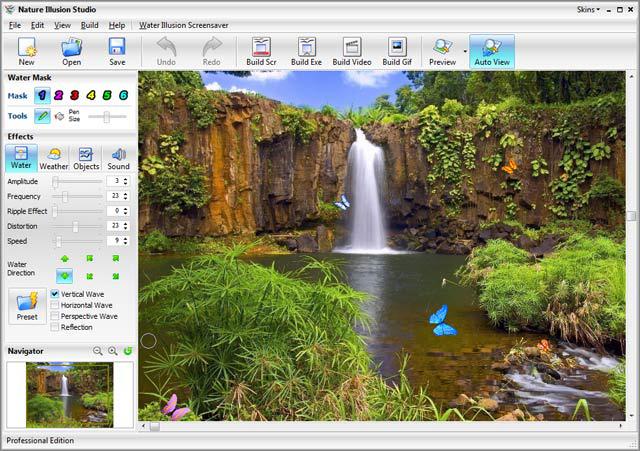 Nature Illusion Studio Standard Edition Screenshot