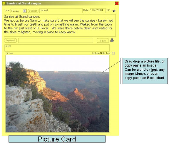 Educational Software, ndxCards Screenshot