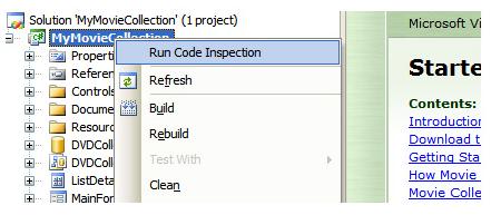 .NET Code Inspector, Development Software Screenshot
