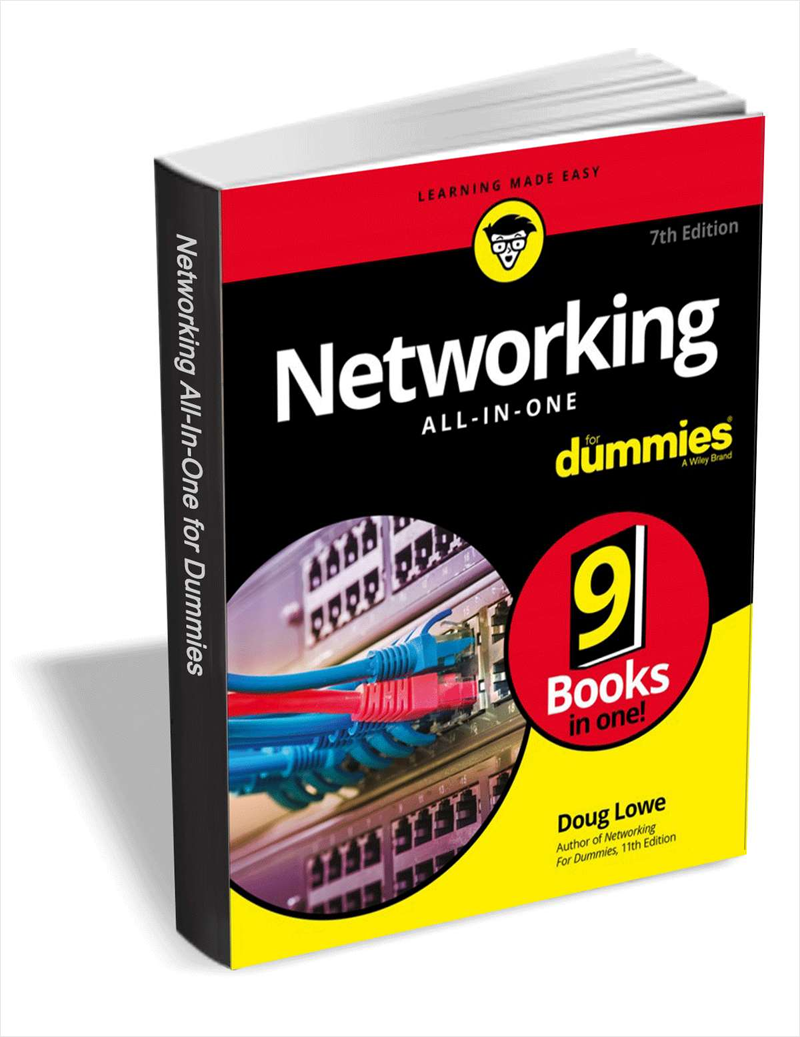 Networking All-in-One For Dummies ($17 Value) FREE For a Limited Time Screenshot