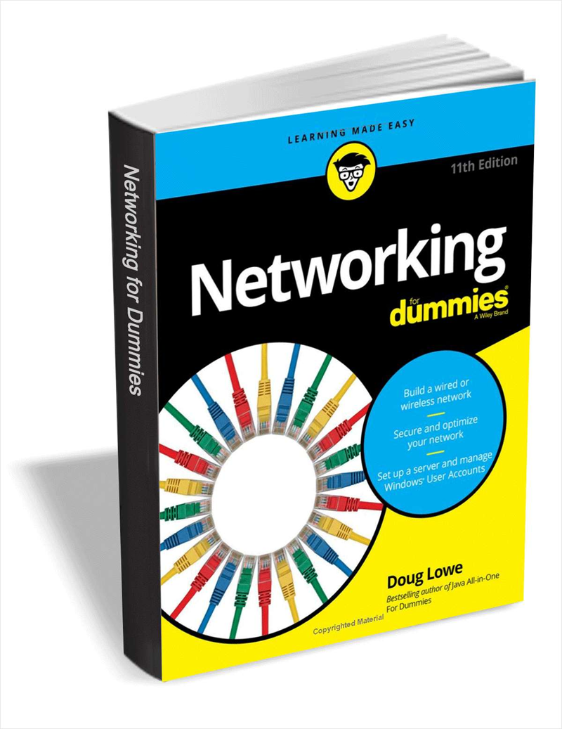 Networking For Dummies, 11th Edition ($15.99 Value) FREE For a Limited Time Screenshot