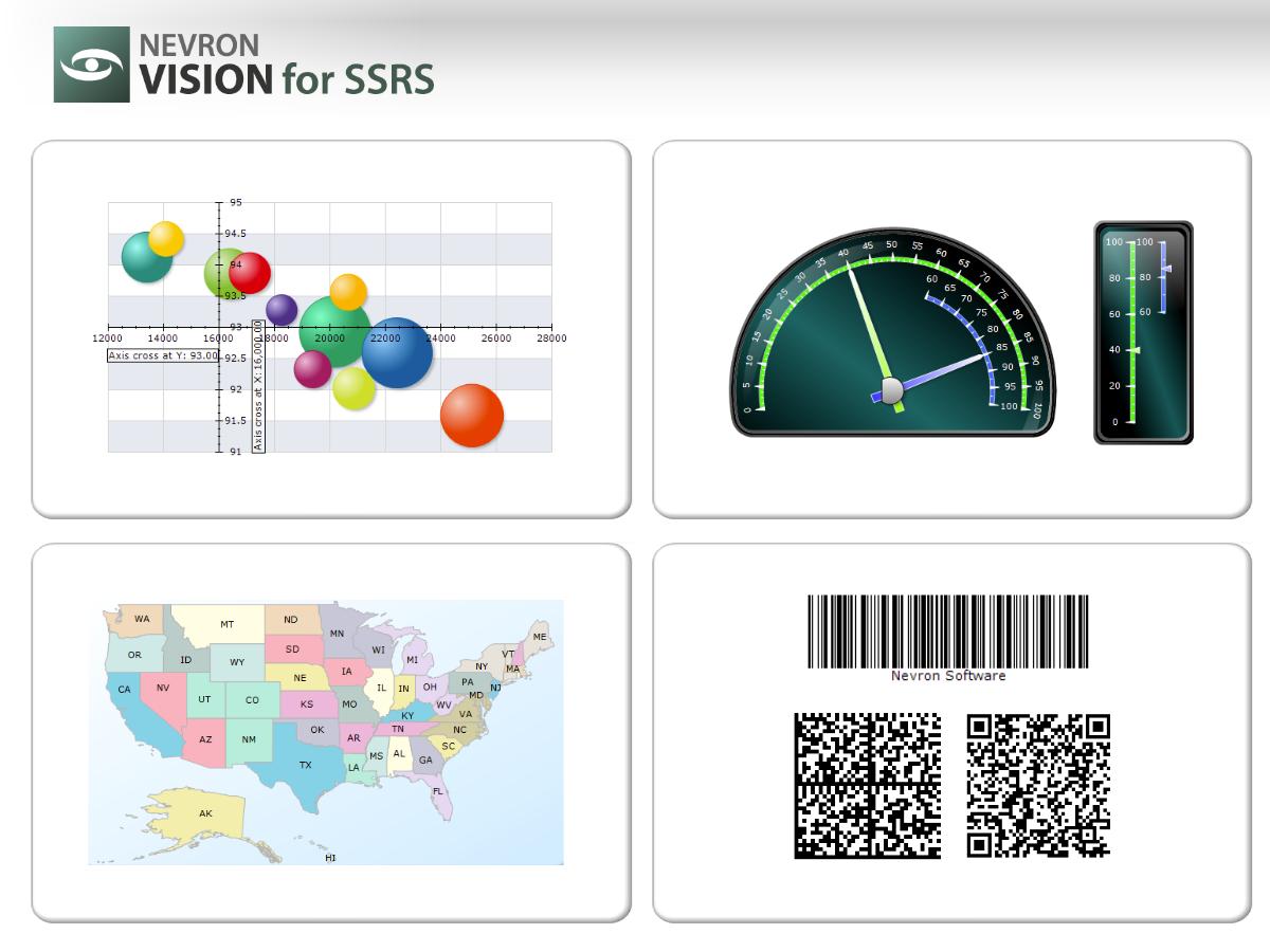 Nevron Vision for .NET, Sharepoint, SSRS, Development Software Screenshot
