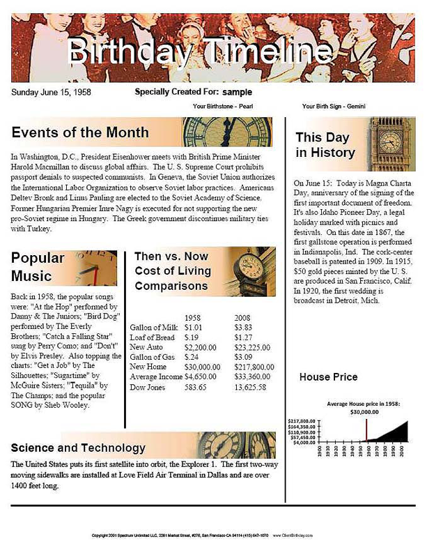 News of the Past Professional, Productivity Software Screenshot