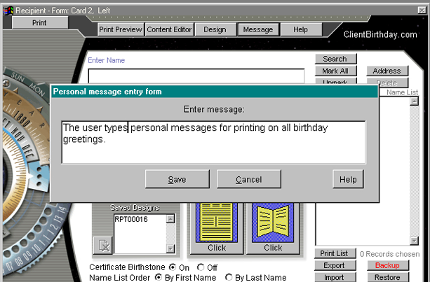 Notes Software, News of the Past Professional Screenshot