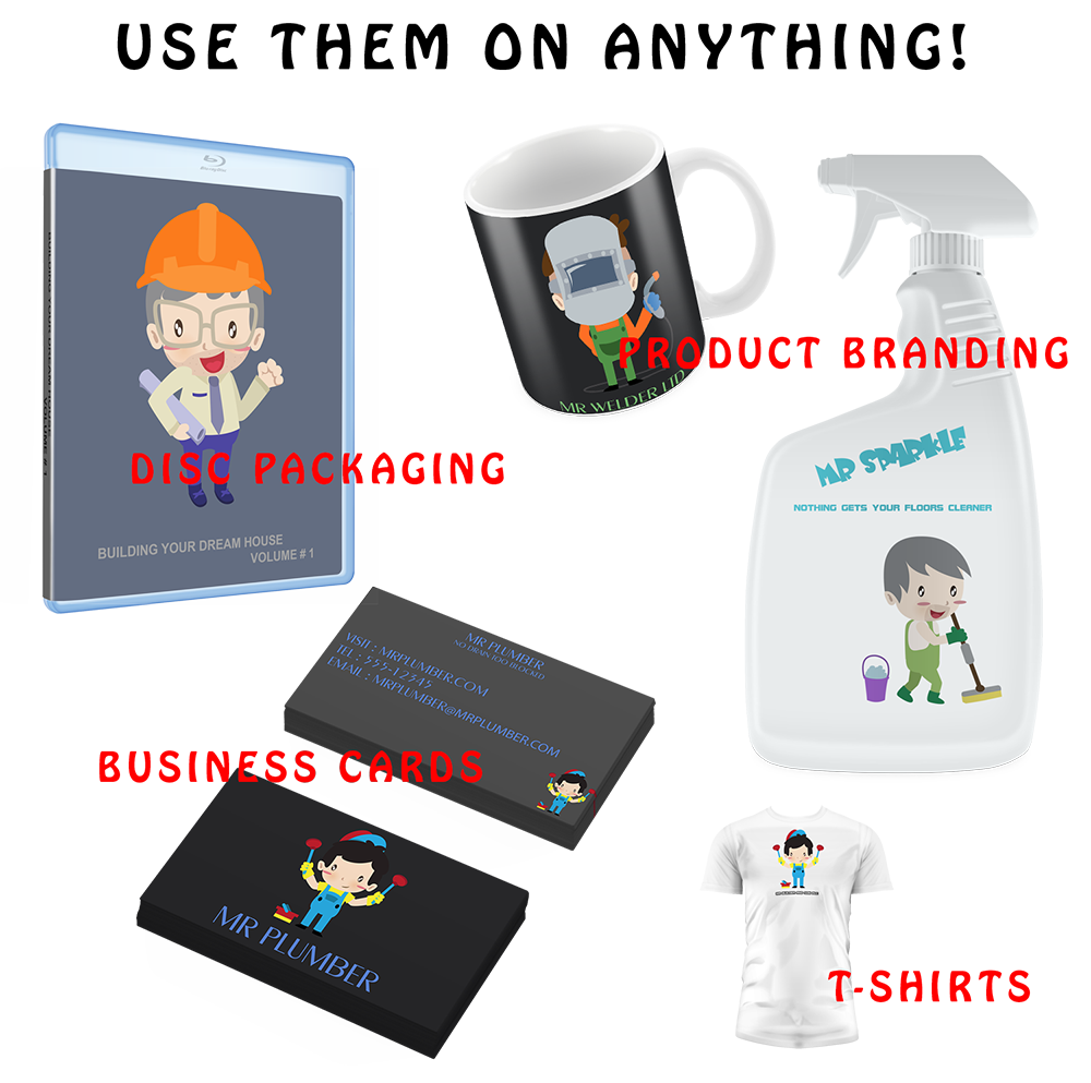 Niche Vector Mascots, Graphic Design Software Screenshot