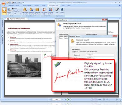 Nitro PDF Professional OCR, PDF Utilities Software Screenshot