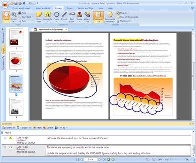 Nitro PDF Professional OCR Screenshot