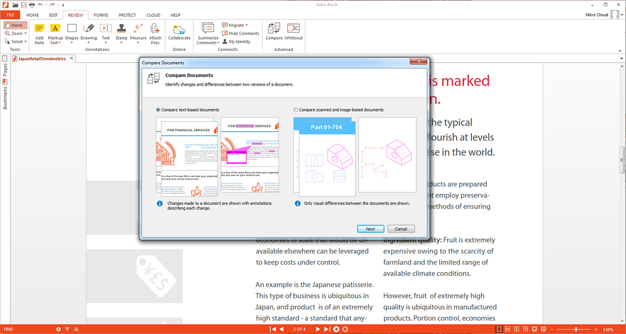 Business & Finance Software, Nitro Pro 9 Screenshot