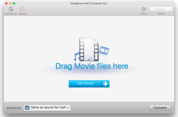 Video Software, Noteburner M4V Converter Plus Screenshot