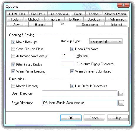NoteTab Pro, Development Software Screenshot