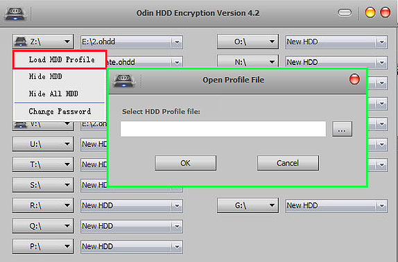 Odin Hard Disk DriveHDD Encryption - Encryption Software for