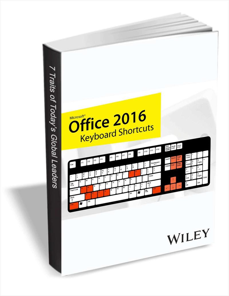 Office 2016 Keyboard Shortcuts Screenshot