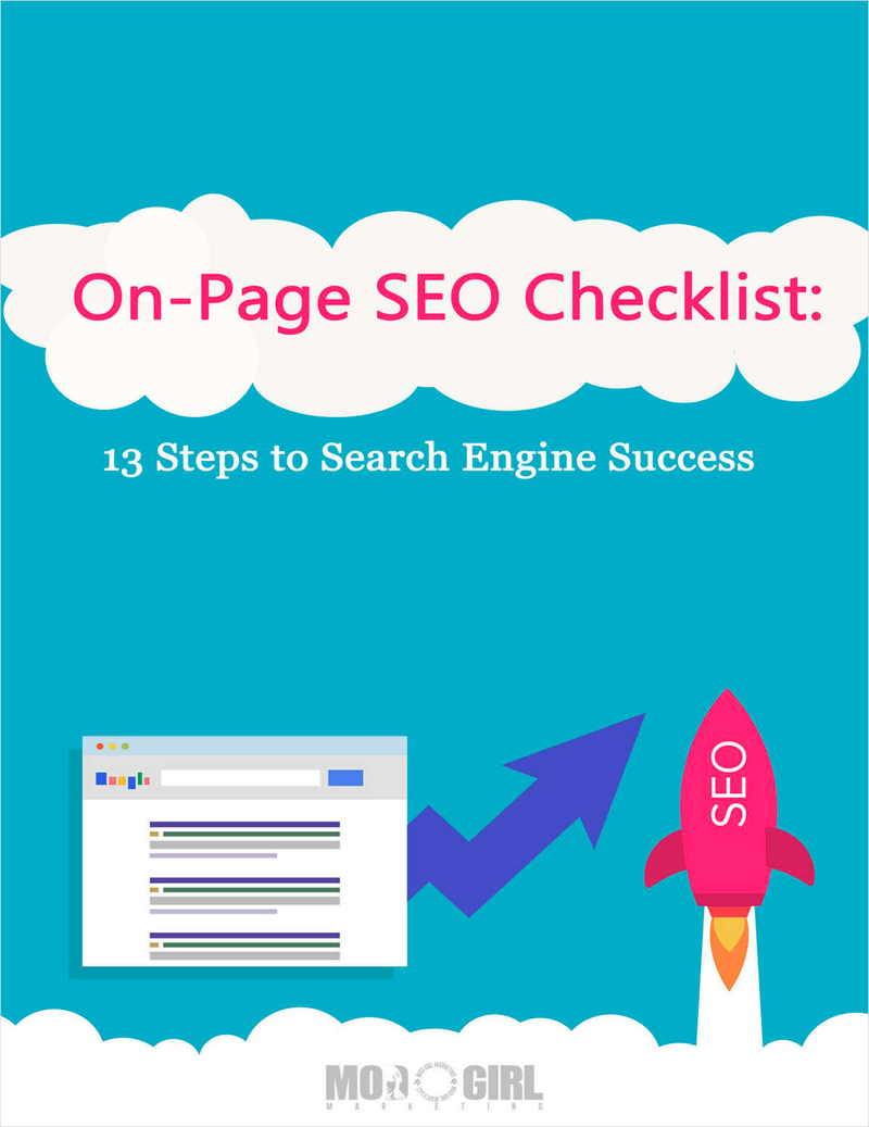 On-Page SEO Checklist: 13 Steps to Search Engine Success Screenshot