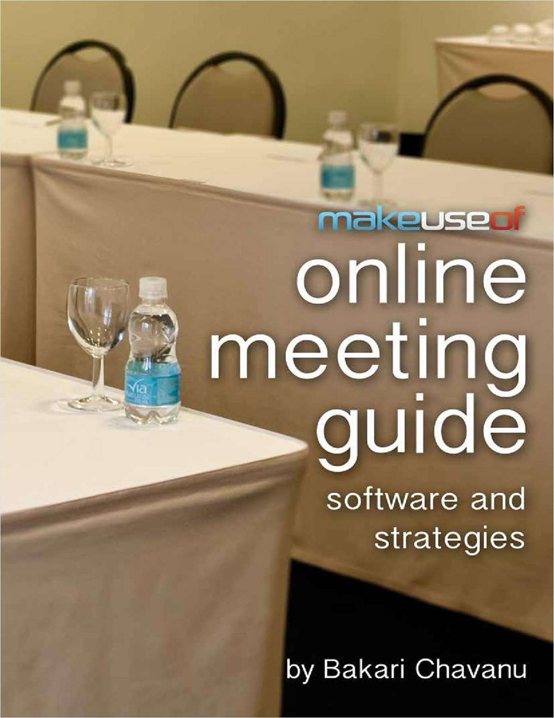 Online Meeting Guide: Software and Strategies Screenshot