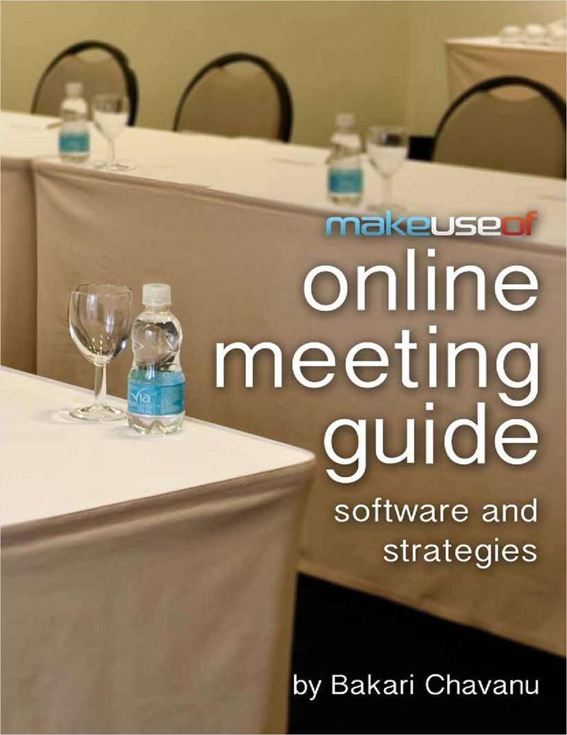Online Meeting Guide: Software and Strategies Screenshot