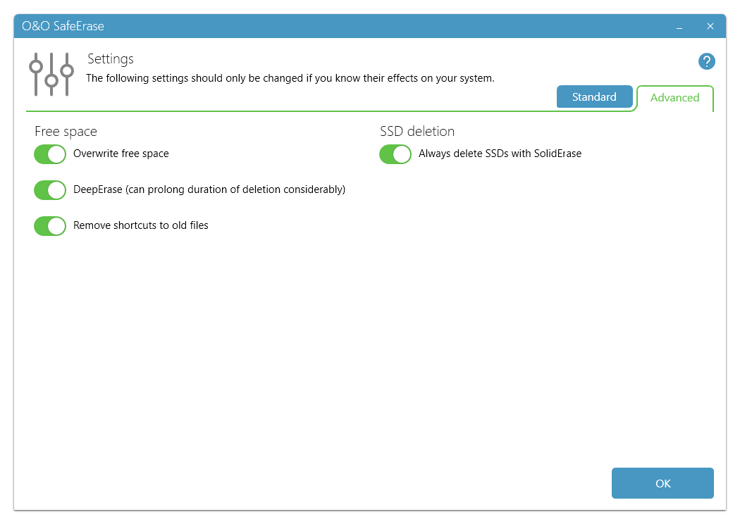 Access Restriction Software Screenshot