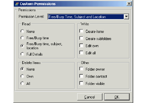 Email Tools Software, Outlook Delegation Manager Screenshot