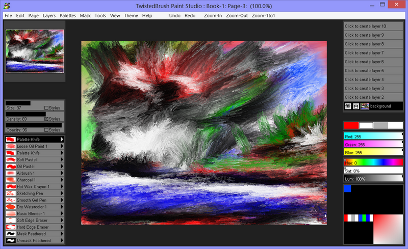 Design, Photo & Graphics Software, Paint Studio Screenshot