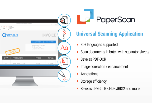 PaperScan Screenshot