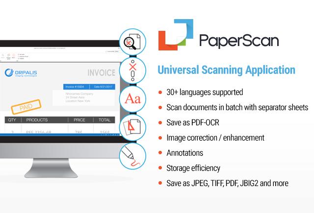 PaperScan Screenshot
