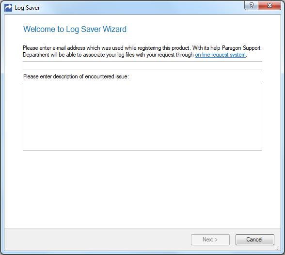 Access Restriction Software, Paragon Drive Copy 14 Compact Screenshot