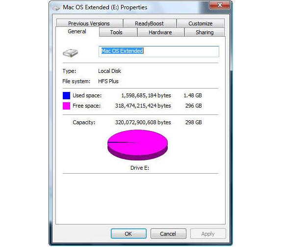 Software Utilities, Paragon Mac Bundle: NTFS for Mac 14 and HFS+ for Windows 10 Screenshot