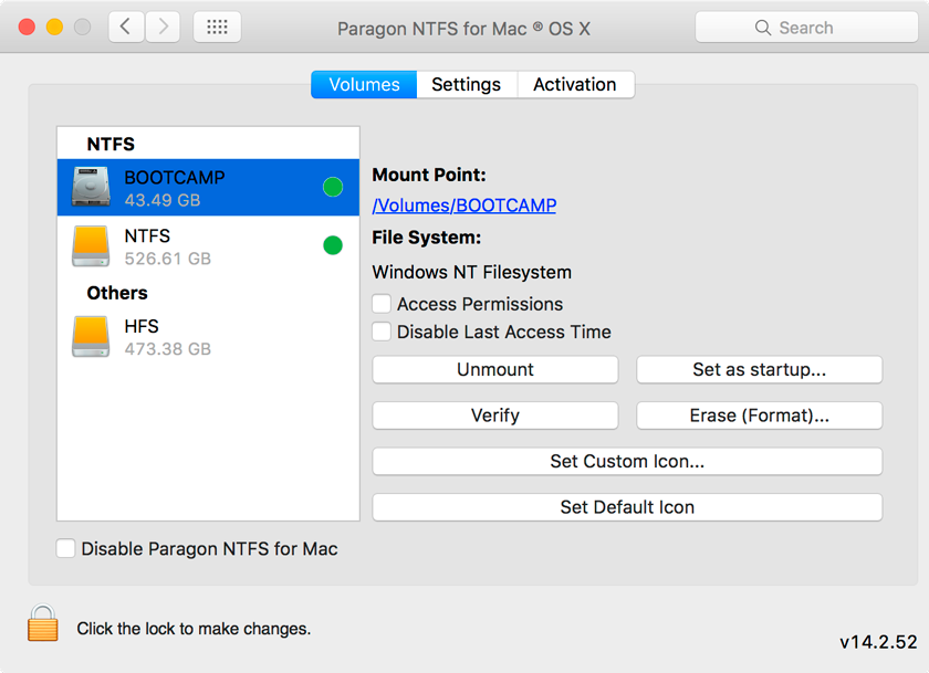 Paragon UFSD Value Pack, File Management Software Screenshot