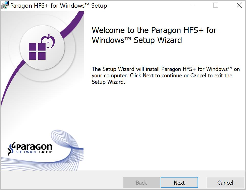 Paragon UFSD Value Pack, Software Utilities Screenshot