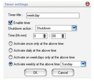 Auto Shutdown Software Screenshot