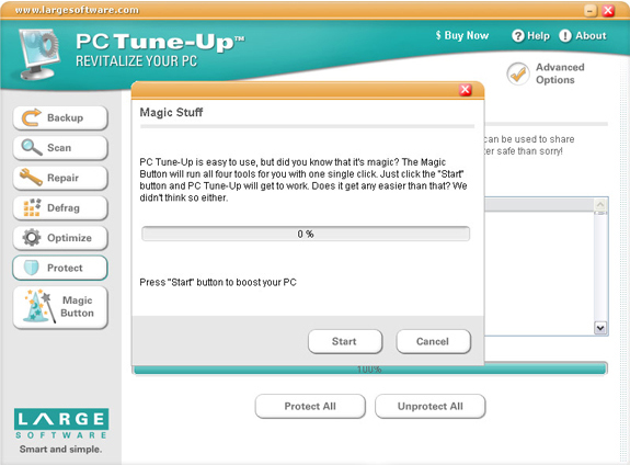Software Utilities, PC Tune-Up Screenshot