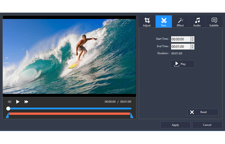 Program4Pc Video Converter Pro, Video Converter Software Screenshot