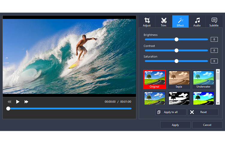 Program4Pc Video Converter Pro, Video Software Screenshot