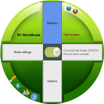 Health Software, PC WorkBreak Screenshot