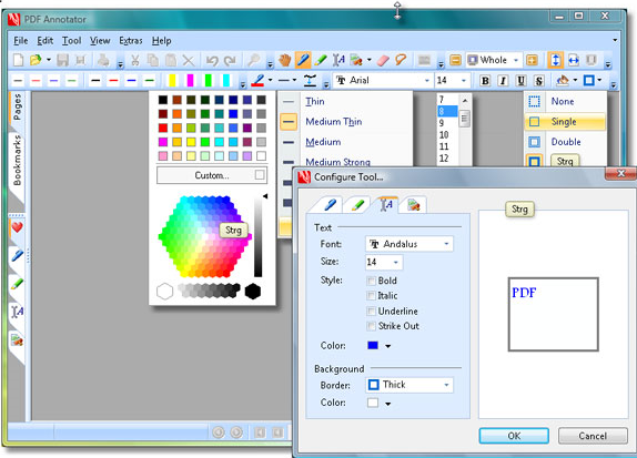 Business & Finance Software, PDF Annotator 2 Screenshot