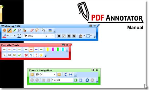 PDF Annotator 2, PDF Annotation Software Screenshot