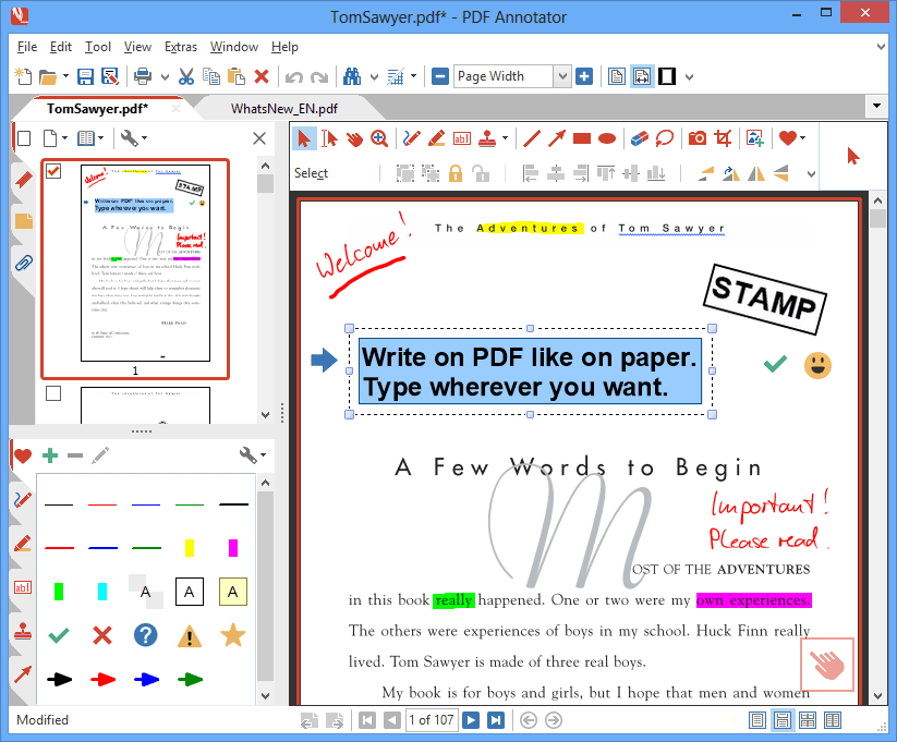 PDF Annotator 6 Student License Screenshot