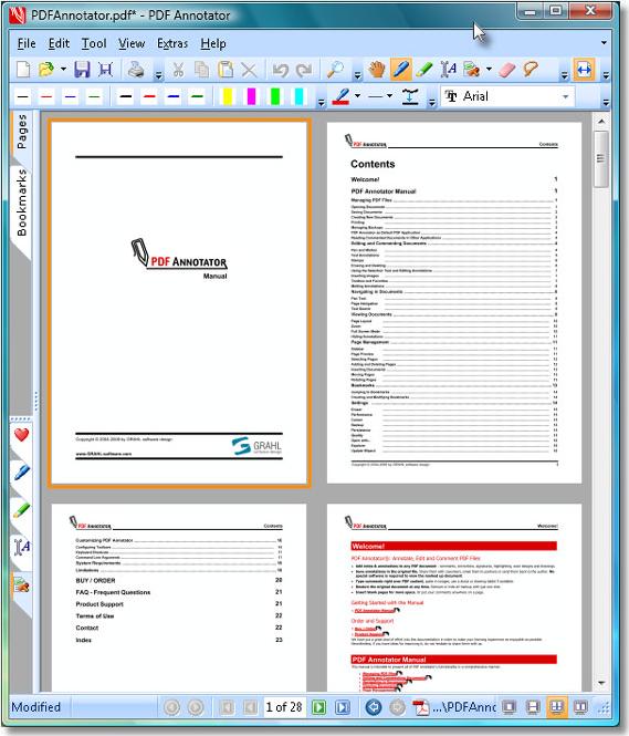 PDF Annotator 2, Business & Finance Software Screenshot
