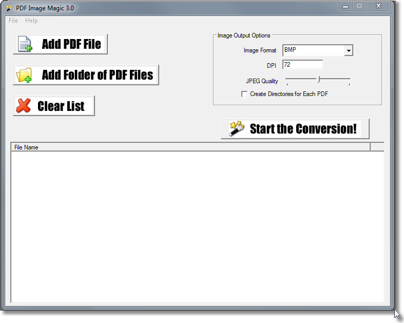 PDF Image Magic Screenshot