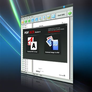 PDF OCR, PDF Utilities Software Screenshot