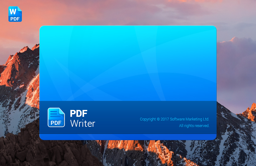 PDF Pro, PDF Conversion Software Screenshot