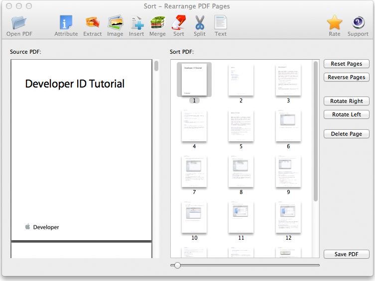 PDF Suite for Mac Screenshot